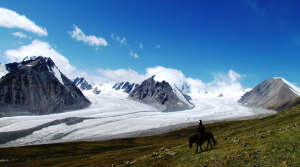 Glacier d'Altai Tavan bogd, Mongolie