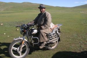 Motard mongol